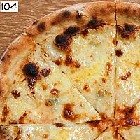 Pizza Four Cheese White