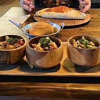 Trio de Pasta (bolognese, carbonara, pesto)