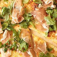 Pizza Parma and Arugula