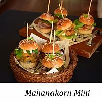 Mahanakorn - mini burger (served 3) (มหานคร มินิ เบอร์เกอร์)