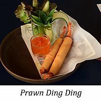 Prawn ding ding ( พลอน ดิ่ง ดิ้ง )  ( served x 2)