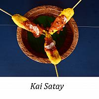 Kai Satay ( ไก่ สะเต๊ะ) ( served x 3 )