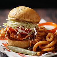 Buff Chicken Burger Set
