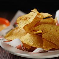 Chips & Nacho Cheese Sauce Dip