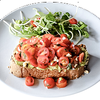 Avocado & Tomato on Toast