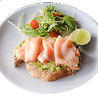 Avocado & Salmon on Toast