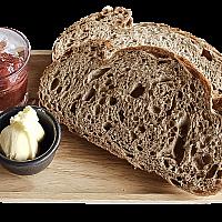 Toast + Butter & Jam