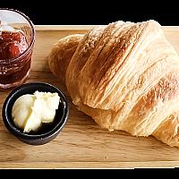Croissant + Butter & Jam