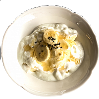 Banana Honey Yoghurt Bowl