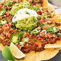 Hot Beef Nachos
