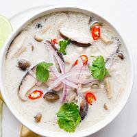 Tom Ka-Coconut Soup