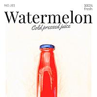 Watermelon / น้ำแตงโม