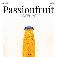 Passion fruit/ น้ำเสารสสด