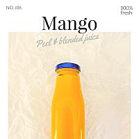 Mango Juice / น้ำมะม่วงสด