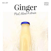 Ginger Juice / น้ำขิง