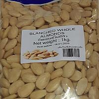White Almond Whole 1kg