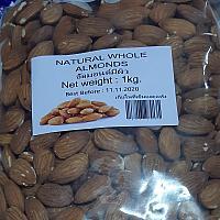 Raw Almond Whole 1kg