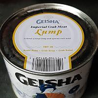 Backfin Crab Meat 454g/can
