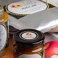 Peach Jam 560g/Jar