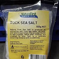 Rock Salt (Small Grains) 500g.