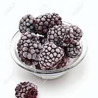 Frozen Wild Blackberry 1 Kg Bag