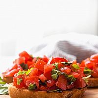 Bruschetta fresh tomato