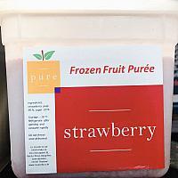 Frozen Strawberry  Puree 1.5kg Pail
