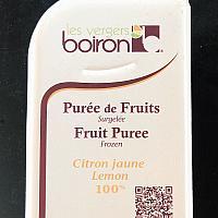 Frozen Lemon Puree 'Boiron' 1Kg