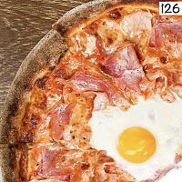 Pizza Bismarck