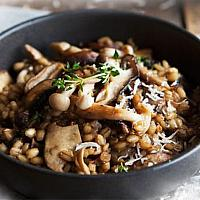 Risotto Mushrooms (2 portions)