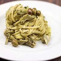 Spaghetti Carciofi Olive