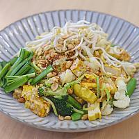 Zucchini Pad Thai Vegan