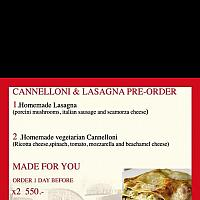 Lasagna Porcini Mushroom