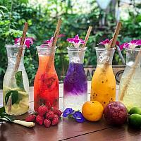 Lemonade Orange Passion Fruits