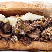 Philly Cheese Steak Baguette
