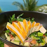 Israeli Grilled Tofu Salad