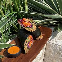 Panang Quinoa Sushi Burrito