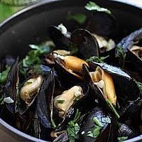 Mussels Beer หอยแมลงภู่กับเบียร์