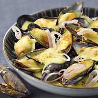 Mussels Curry หอยแมลงภู่กับแกง