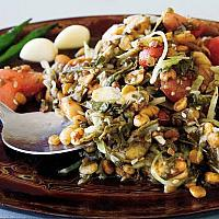 Burmese Tea Leaves salad