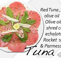 Tuna Sesame Carpaccio