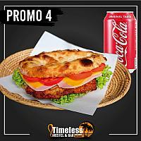 Chicken Schnitzel Sandwich + Coke