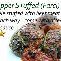 Bell Pepper Stuffed (farcis)