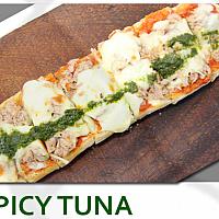 Spicy Tuna Bruschetta