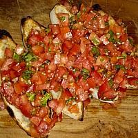 Focaccia Marinated Tomatoes (Bruschetta Tomato)
