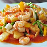FRIED SWEET AND SOUR (CHICKEN/PORK/SHRIMP)