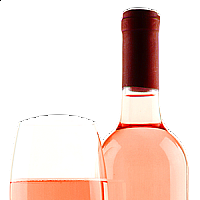 "WINE ROSE ""LE PINS DE DÁUBANE"",  0,7 L,    (FRANCE)"
