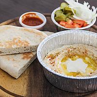 Hummus Plate with Pita