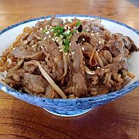 Beef Yakiniku Rice Bowl