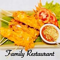 Chicken Stay with Peanut Sauce